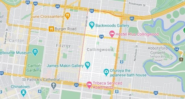 Collingwood Map Area