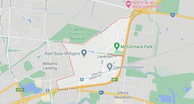 Laverton Map Area